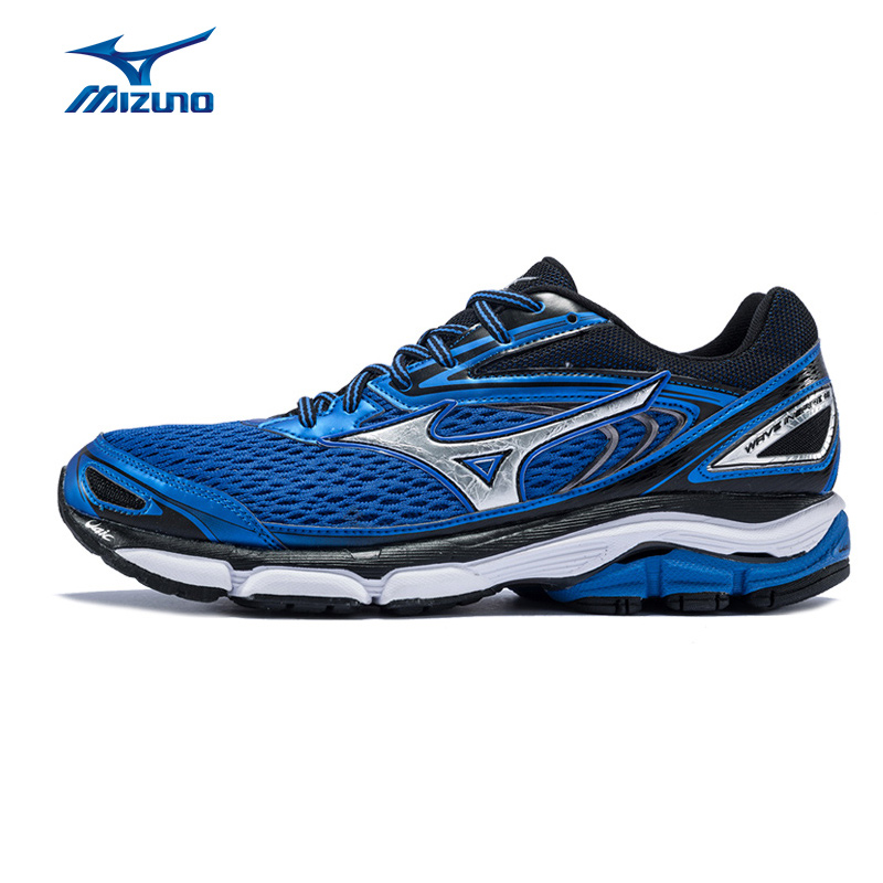 Mizuno Men's WAVE INSPIRE 13 Running Shoes Wave Cushion Stability Sneakers Light Breathable Sports Shoes J1GC174403 XYP572 стоимость