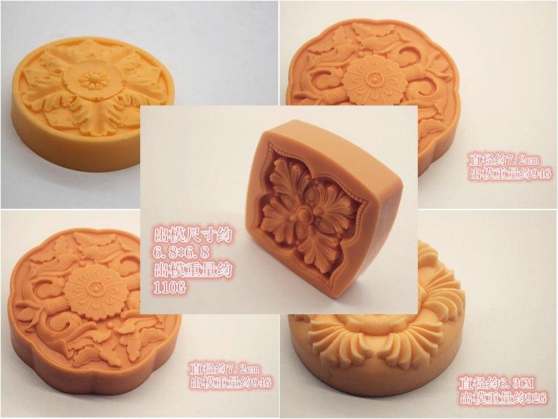 1 шт. форма для торта силиконовая форма полимерная глина, мыло ручной работы различные цветы кухонные инструменты