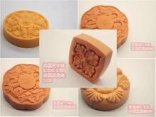 1 pçs molde de bolo molde de silicone argila de polímero artesanal sabão molde diferentes flores ferramentas de cozinha