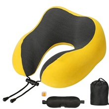 Outdoor Traveling Neck Pillow Protrctive Tools Multifunctional U-shaped Lightweight Portable Washable Memory Foam Cushion