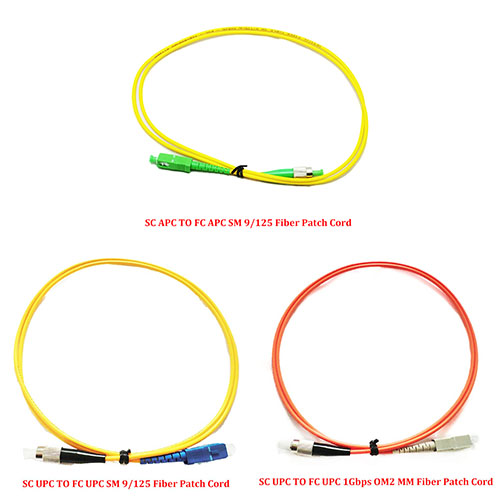 3.0 Meter FC APC to FC UPC SM Single Mode 9//125 Fiber Patch Cord Simplex 3.0mm