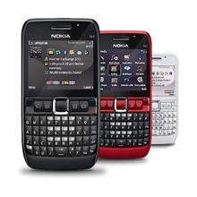 Отремонтированный мобильный телефон NOKIA E63 3G Wifi русская клавиатура QWERTY разблокирована