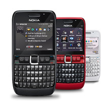 Nokia e63 desbloqueado original, telefone móvel com 3g wifi, bluetooth, 2mp, qwerty, teclado, árabe, teclado russo