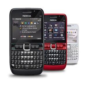Unlocked Original NOKIA E63 3G Mobile Phone Wifi Bluetooth 2MP QWERTY Keyboard Cellphone & Arabic Russian Keyboard
