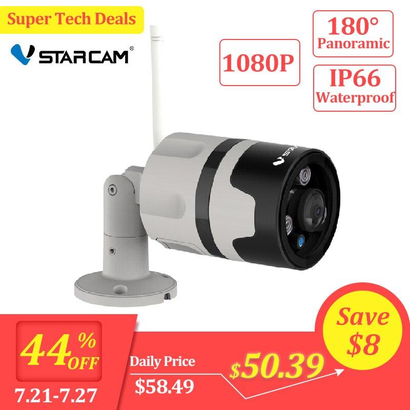 Vstarcam 1080P IP Camera Outdoor Wifi Camera IP66 Waterproof Motion Detection Night Vision Panoramic Bullet Camera C63S