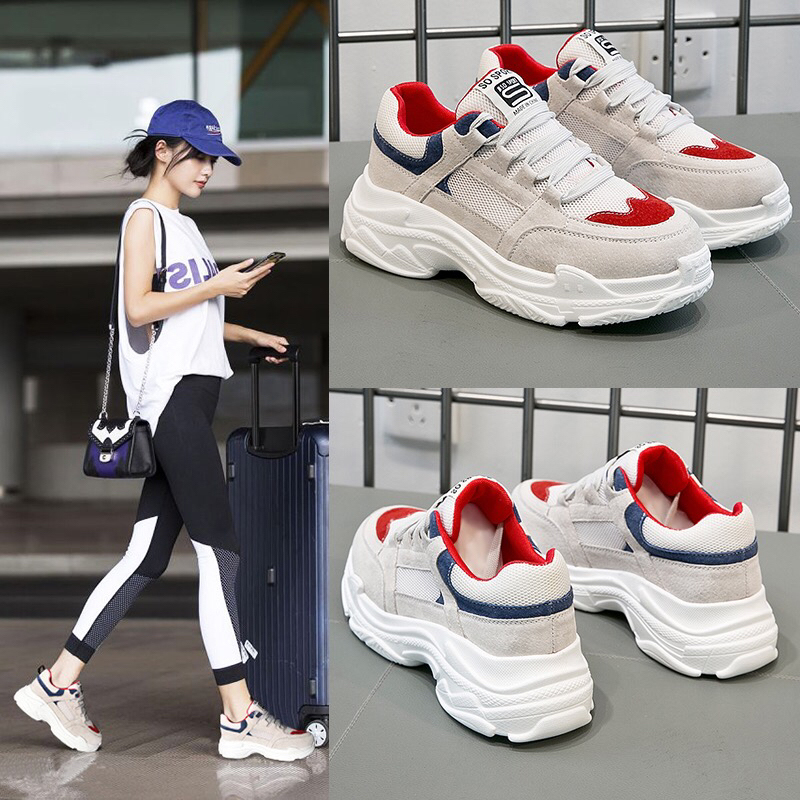 цены 2017 Fashion Brands Women Shoes Spring Tenis Feminino Casual Shoes Outdoor Walking Shoes Women Flats Pink Lace Up Ladies Shoe