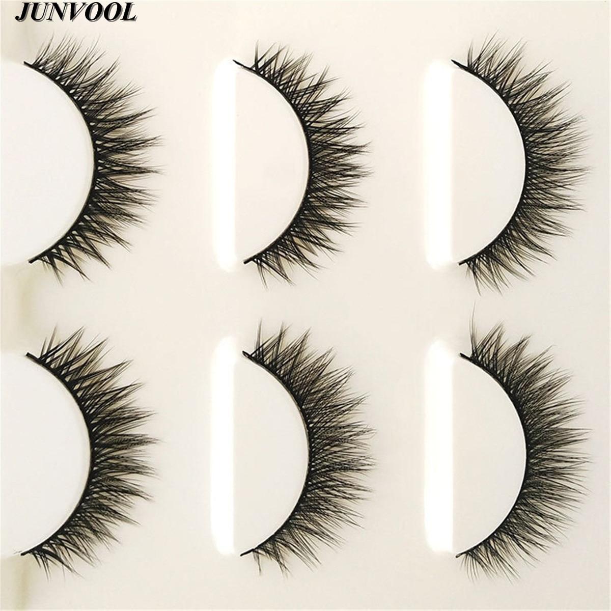 Ekstensi bulu mata, 15 Pairs buatan tangan 3D Mink rambut, Kecantikan - Riasan - Foto 2
