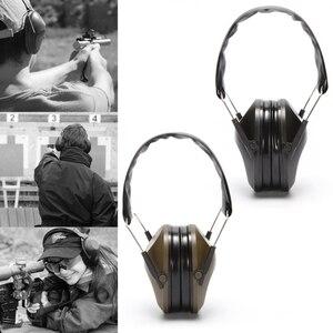 Image 5 - Proteção auditiva dobrável tiro esportes orelha muffs cancelamento de ruído earmuff