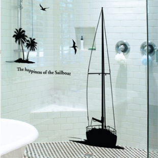 Tropical Island Bathroom Decor