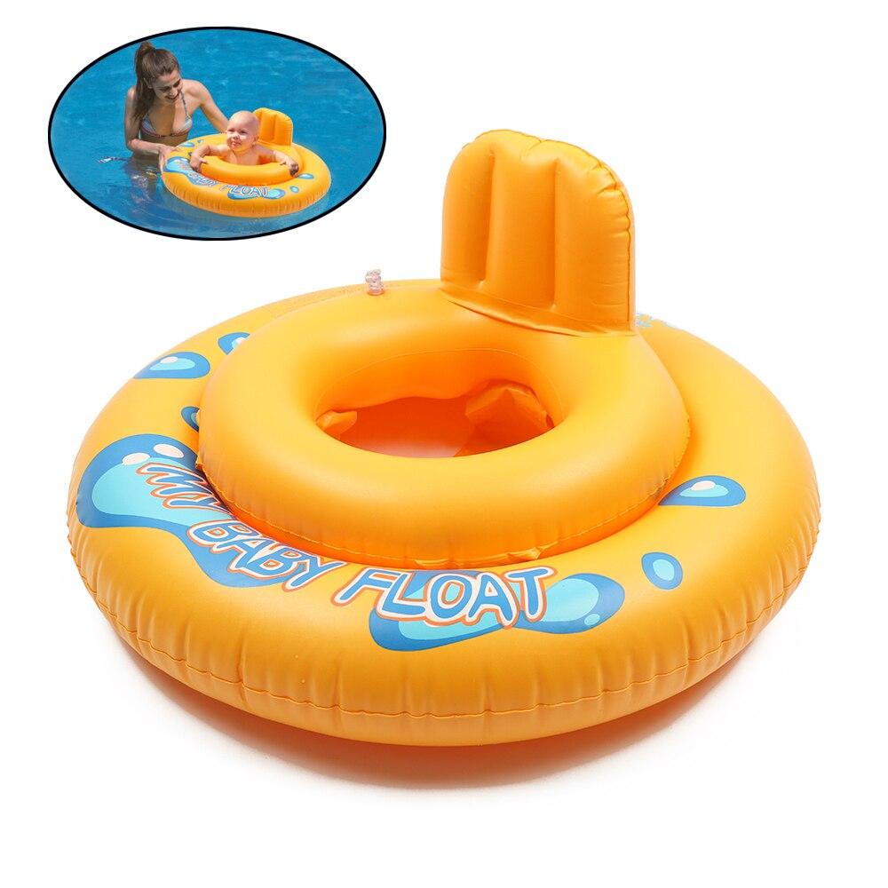 Цельнокроеное платье круглый летняя для маленьких детей поплавок Плавание бассейн 2 Круги полые Плавание сиденье кольцо мультфильм поплав... ...