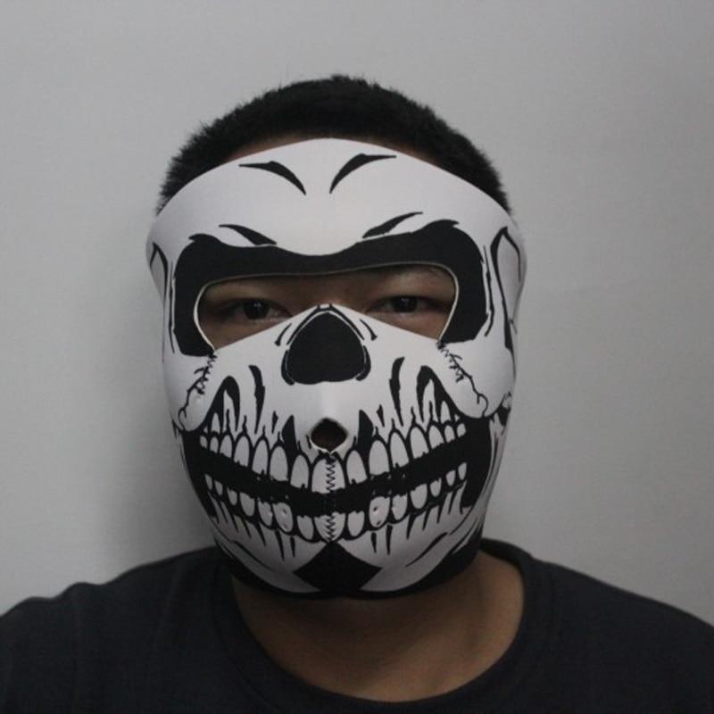 1pc Full Face Skull Mask Sports Warm Ski Caps Halloween