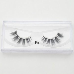 Image 5 - Visofree 25 pairs/lot Mink Eyelashes Invisible Band Lashes Natural Full Strip Transparent band lashes 3D Lashes cilios posticos