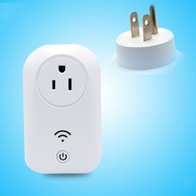 New Safe Remote Control Socket Power Plug US Standard 10A Smart Socket on Wall Free Shipping