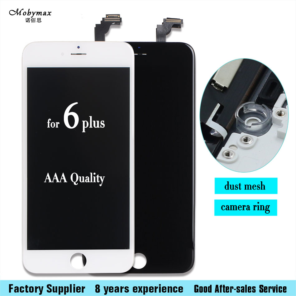 LCD Screen Touch Screen Digitizer Assembly Repair for iPhone 6 plus 5.5 inch lcd display assembly + tool kit