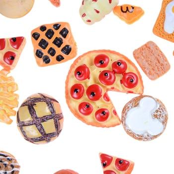10pcs Home Craft Mini Food Ornament Miniature Dollhouse Decor Doll House Accessories Scale
