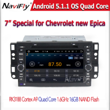 1024*600HD screen with Android5.11 car DVD Player GPS navigator Radio cassette Bluetooth for Chevrolet epica capativa tosca