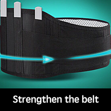 New Self-heating tactical belt Magnet magnetic therapy warm support back belt For Postpartum warm  waist injury or weight loss недорого