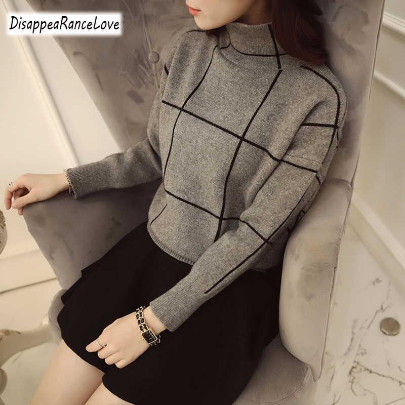 Disappearancelove 2019 คุณภาพสูงฤดูหนาวหนาเสื้อกันหนาวเสื้อกันหนาวผู้หญิงเสื้อกันหนาวหญิงเสื้อจัมเปอร์