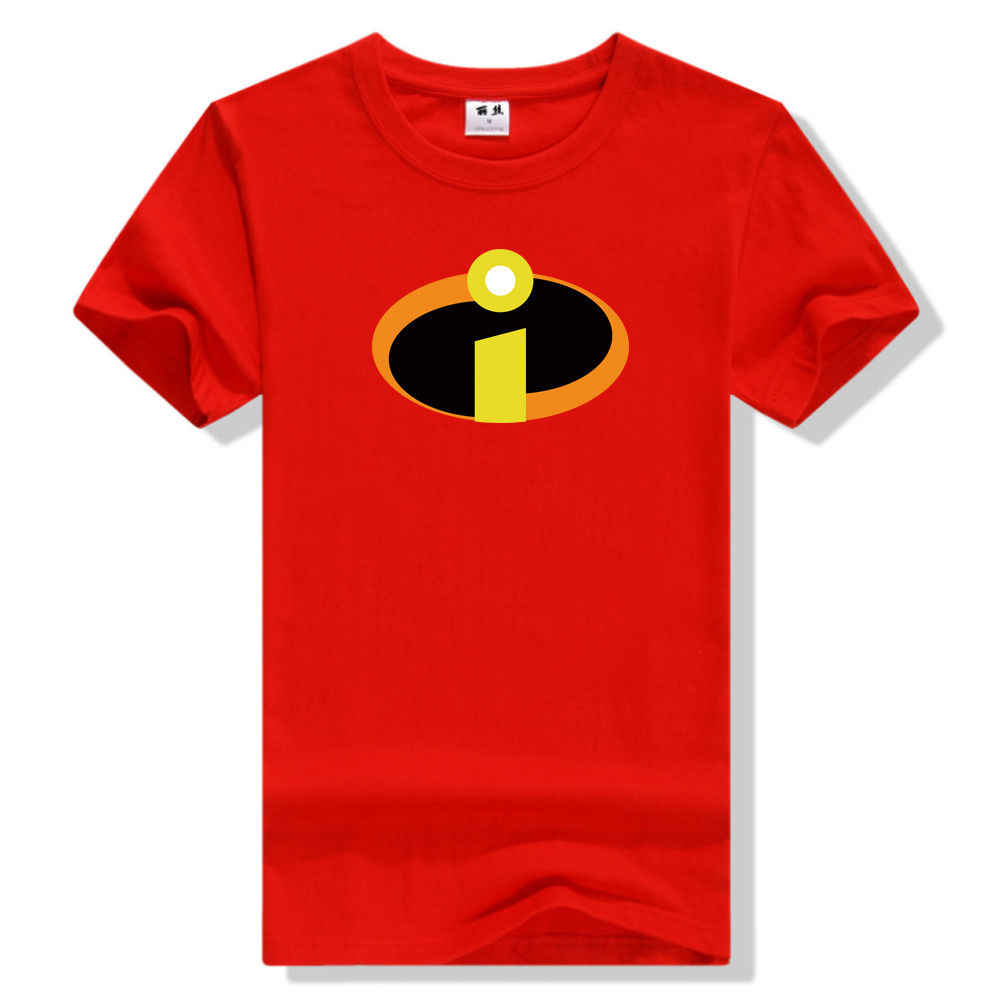 The Incredibles 2 Adult Men's T-Shirt Cosplay Father's Day Gift Red