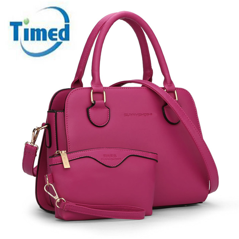 2017 New Women s Handbags Composite bag Pu Leather Shoulder Bag For Female Crossbody Bag Good