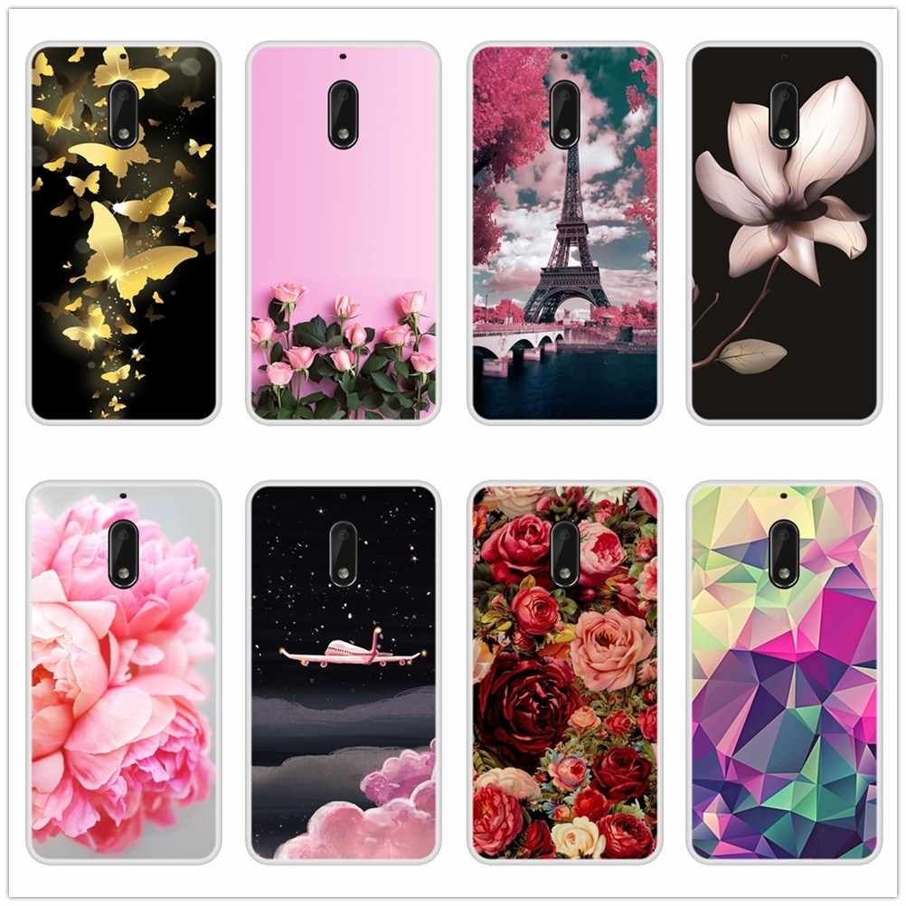 Fashion Patterned Phone Cases For Nokia 1 2 3 5 6 8 Soft Silicone Cover For Nokia3 Nokia6 Nokia5 Nokia2 Nokia 7 Plus X6 Case