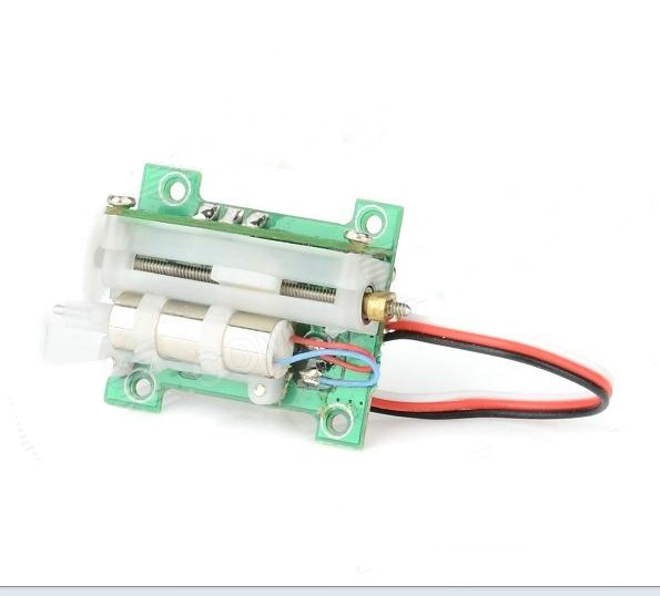 Free Shipping WLtoys V922-22 RC Helicopter Linear Servo - Green SKU:10299 free shipping wltoys v922 rc helicopter wire wl v922 spare parts v922 32