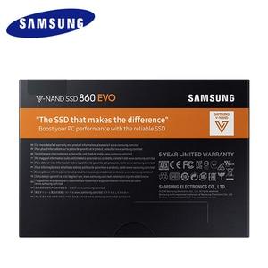 Image 5 - Samsung 860 EVO SSD 250GB 500GB Internal Solid State Disk HDD Hard Drive SATA3 2.5 inch Laptop Desktop PC Disk HD SSD