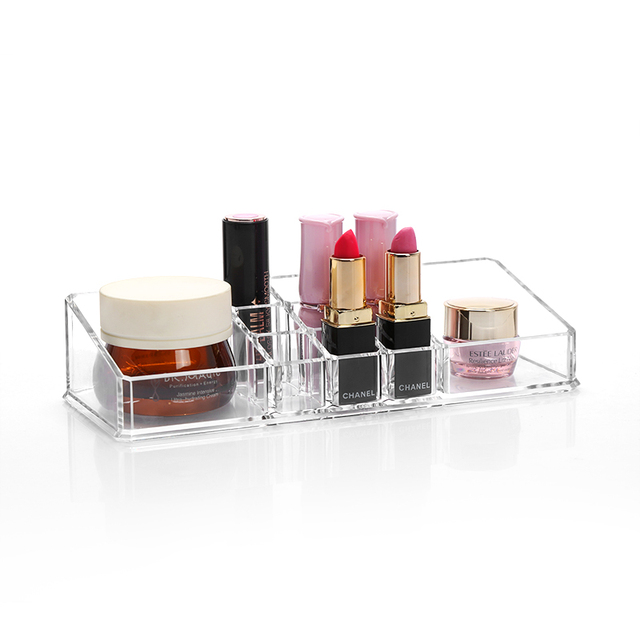 M Acrylic Lipstick Storage Clear Makeup Organizer Transparent Cosmetic Containers  Lipsticks Storage Container Cosmetics Box C21