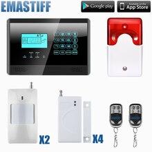 Livraison gratuite GSM système D'alarme de sécurité À Domicile système D'alarme