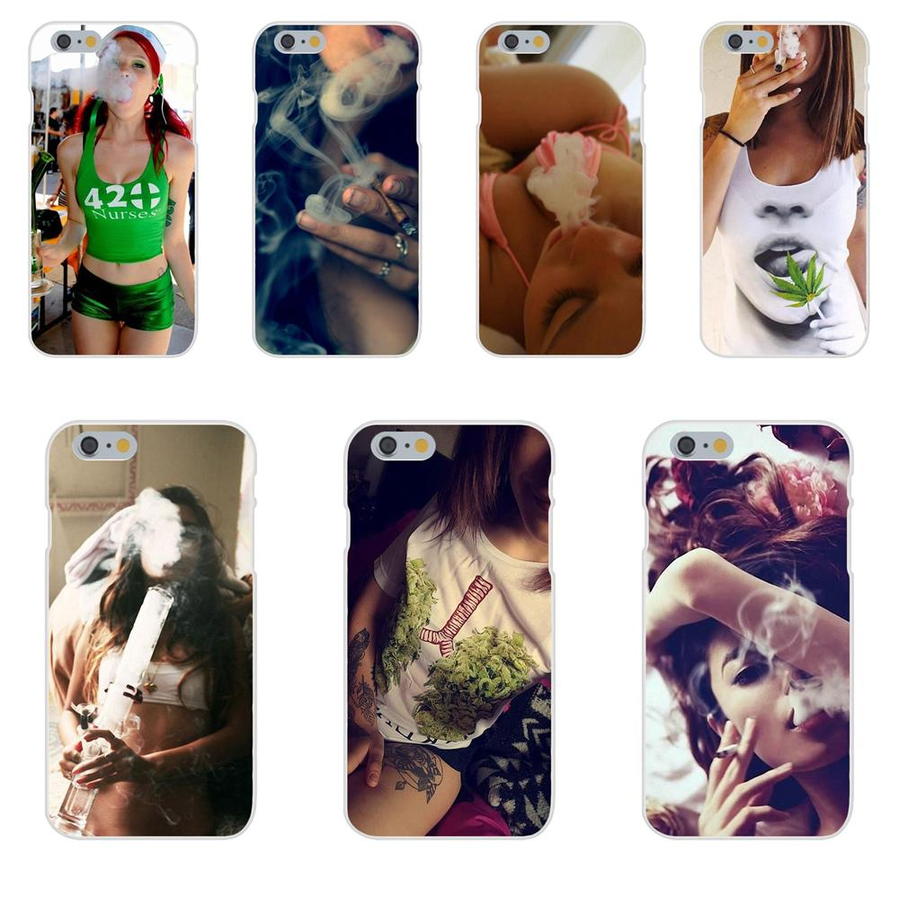 Weed <font><b>Sexy</b></font> Girl For Galaxy J1 J2 J3 J330 J4 J5 J6 J7 J730 J8 2015 2016 2017 2018 mini Pro TPU Capa Coque image
