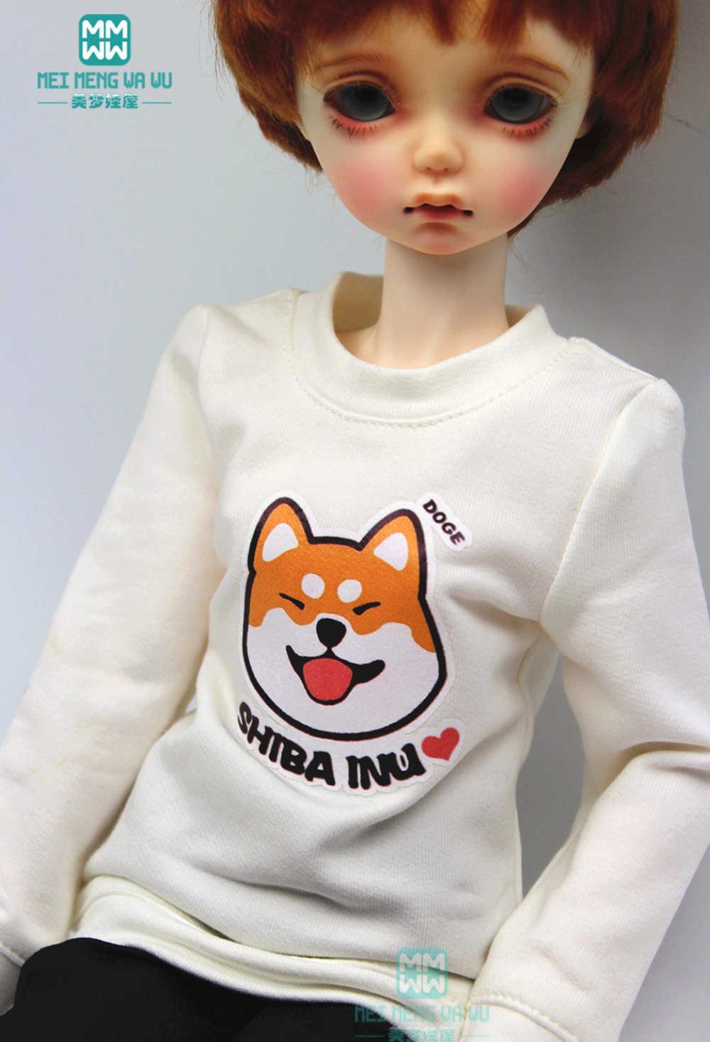 אביזרי BJD בובת בגדי עבור 1/4 BJD MSD ילדה ונער בובת אופנה חולצות מכנסי קז'ואל