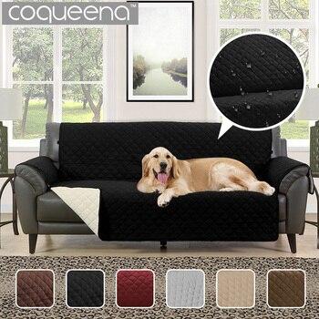 Impermeável Acolchoado Capas de Sofá para Cães Animais de Estimação Crianças Anti-Slip Sofá Slipcovers Reclinável Poltrona Móveis Protetor 1/2 /3 assento