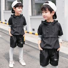 2019 Spring  Boy Fashion Sports Two-piece Set