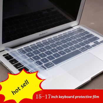 1pc Free Shipping 15 17 inch general laptop keyboard Cover Protector silicone gel film
