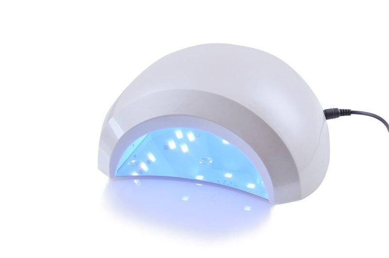 W led nail dryer white light lampada uv per unghie manicure fan
