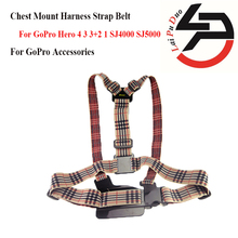 New Sport Action Camera For GoPro Accessories Adjustable Chest Mount Harness Strap Belt for GoPro Hero 4 3 3+2 1 SJ4000 SJ5000