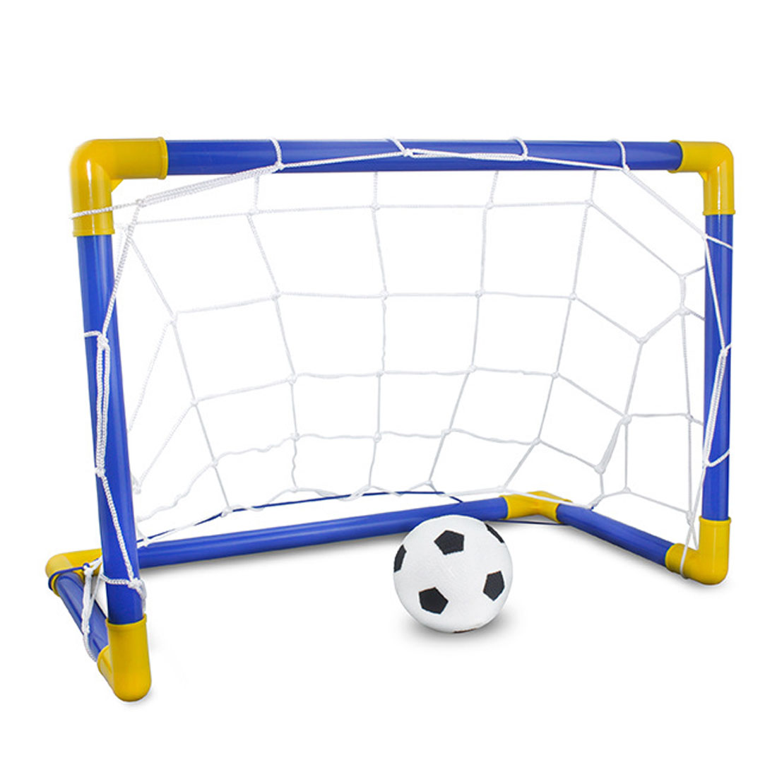 Hot 1 Set Children Sports Soccer Goals With Soccer Ball And Pump Outdoor Sports Practice Scrimmage Game Detachable Football Gate