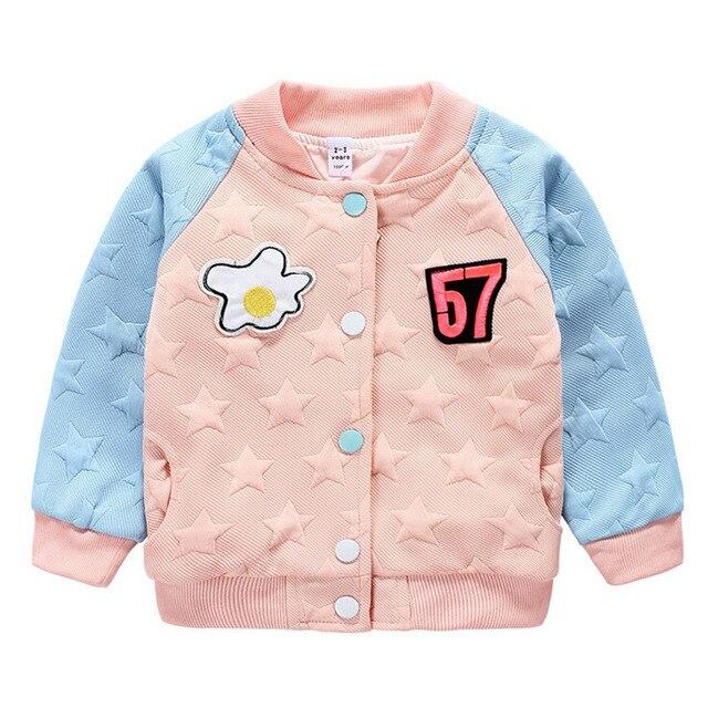 2015 новинка весна и осень детей и толстовки детей пальто куртки анти-пот письмо печать детская одежда девушки верхняя одежда
