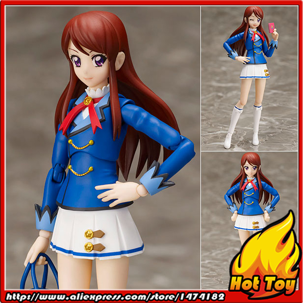 100% Original BANDAI Tamashii Nations S.H.Figuarts (SHF) Action Figure - Ran Shibuki (Winter Uniform Ver.) from Aikatsu!