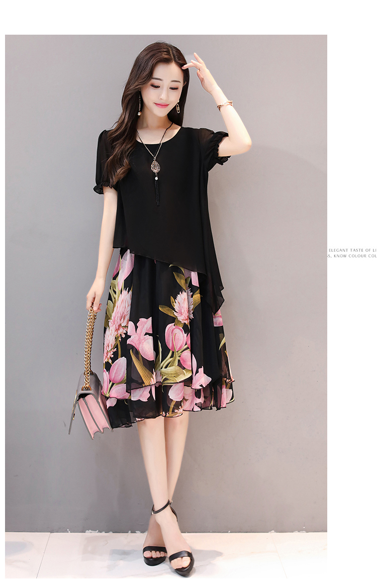HTB1QNy7n0nJ8KJjSszdq6yxuFXaX - Dresses Of The Big Sizes Women Clothing  2019 New Spring Summer Style korean Vestidos 011f1638b8c3