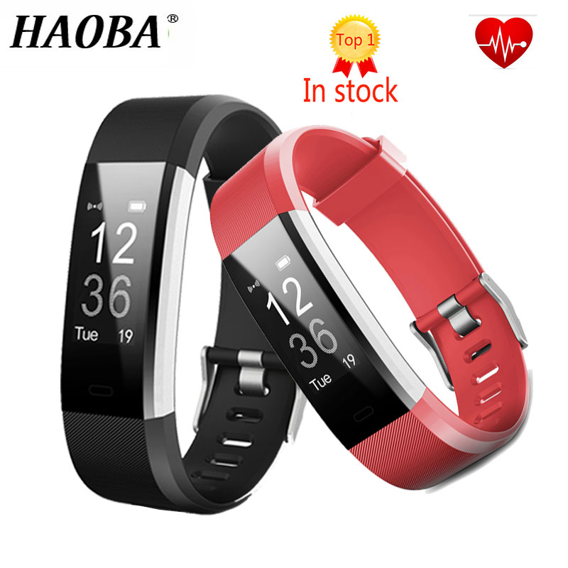 HAOBA Bluetooth Smart armband Herz Rate Smart Band Fitness Tracker Smart armband Smart band für xiaomi Android IOS