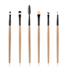 6Pc  makeup brushes professional Eye Shadow Foundation Eyebrow oval Brush Cosmetic make up brush set toothbrush цены онлайн