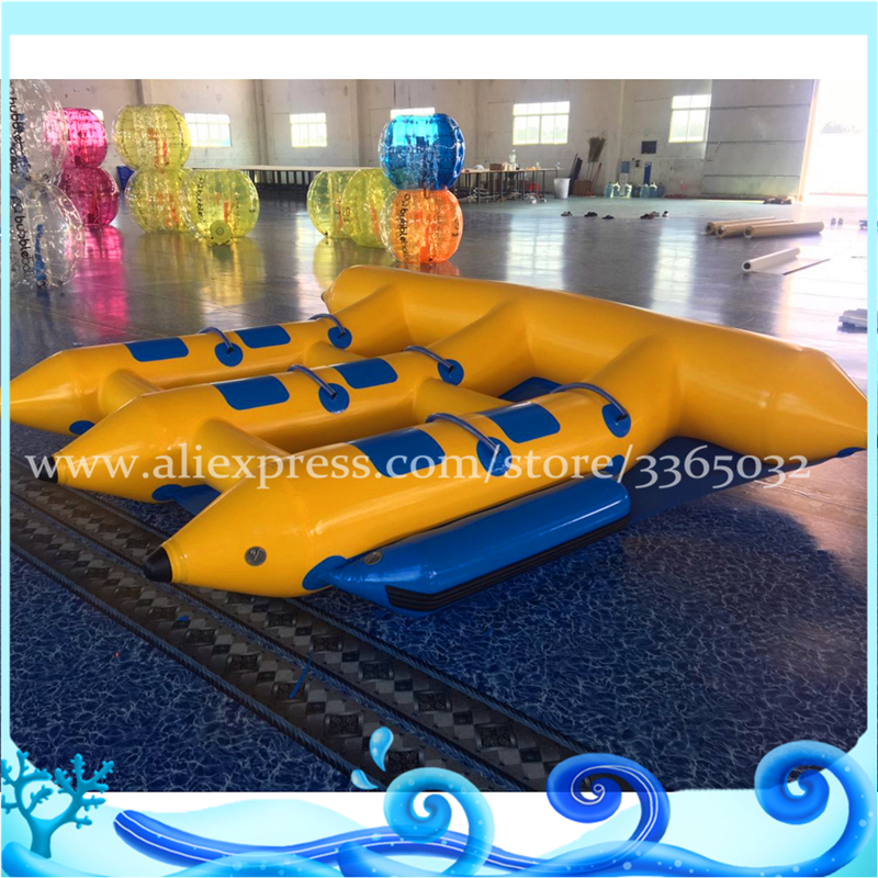 Guangzhou Flying Fish inflable remolcables 6 personas vuelan los - Deportes y aire libre - foto 3