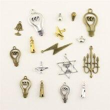 10 Uds. Joyería de moda que hace el mito Aladdin's lámpara mágica faro joyería hallazgos componentes encanto colgante