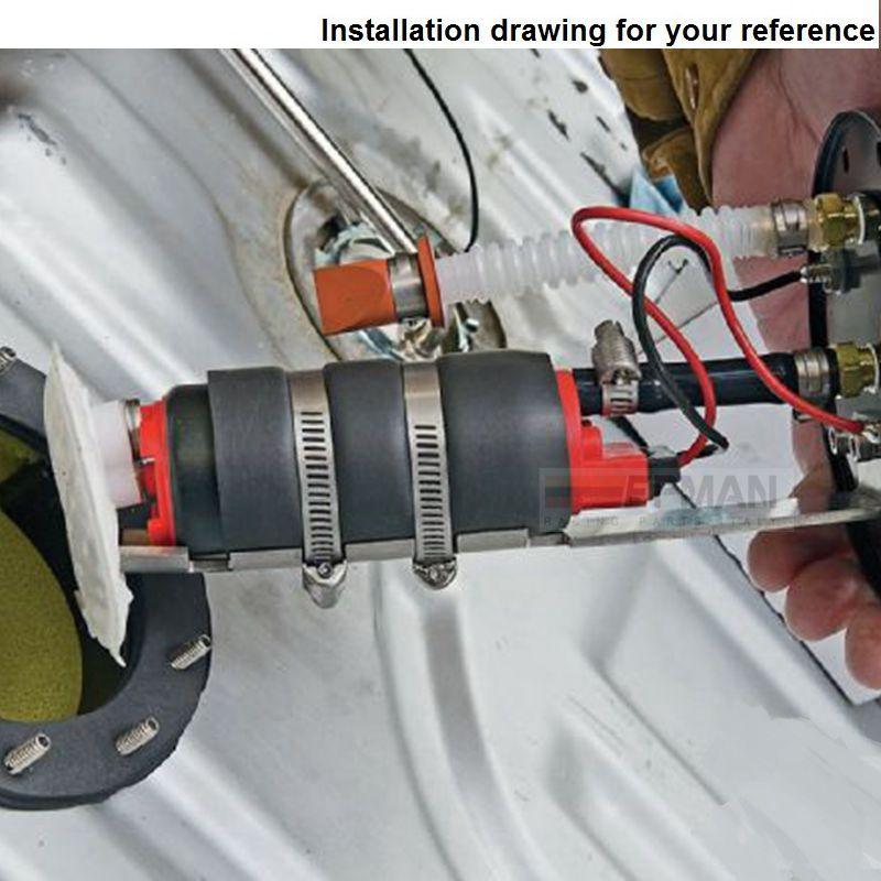 Äkta Epman 255 LPH högtryck elektrisk bränslepump i tanken - Reservdelar och bildelar - Foto 5