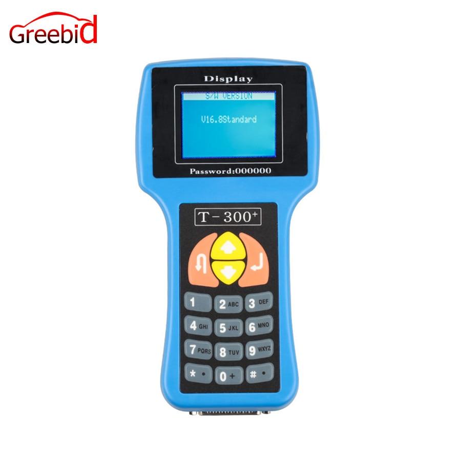 Цена за V16.8 T300 Ключевые программист английский синий T300 программист T300 T-300 Auto Key Программист Быстрая доставка