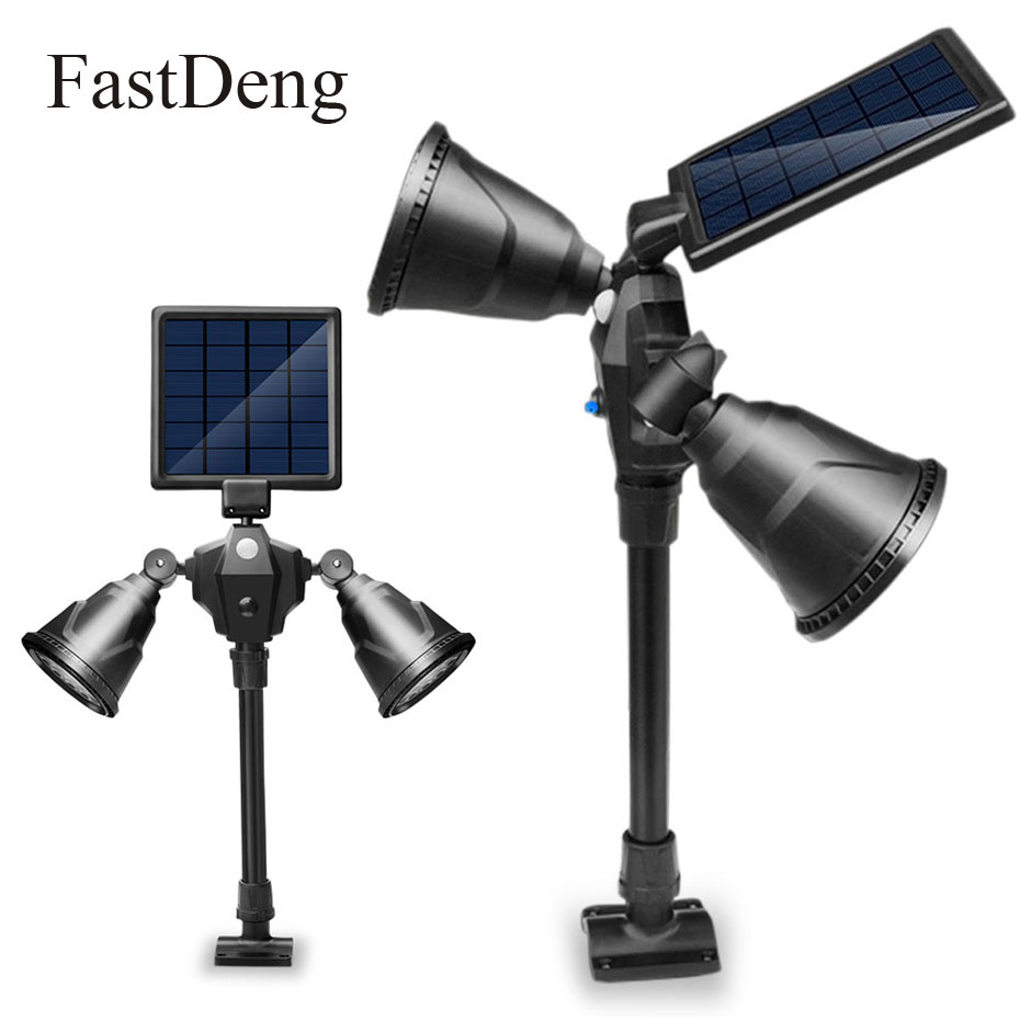 Newest Lawn Lamps Solar Lamp Motion Sensor Wateproof IP65 1000Lm 36Leds Garden Lawn Lamp Outdoor High Quality Wall Path Lighting недорого