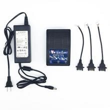 3 em 1 Ultra Rápido Adaptador Carregador de Bateria Equilibrada 2 12 v Para Parrot Bebop Drone/FPV Bateria Com luz da indicação