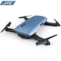 JJRC H47 ELFIE Plus Mini Autofoto Drone con Cámara HD 720 P WIFI FPV Sensor de Gravedad Altitud Hold Plegable de Quadcopter VS H37 Mini