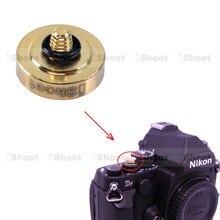 Мелко вогнутая золотой медь камеры кнопка спуска затвора для Nikon DF FM2 Fuji X100 X100S x100t, X30 X20 x10, X-E1 X-E2 X-PRO1